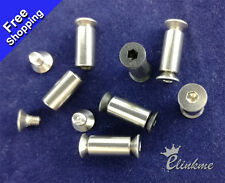 """0.74"""" (19mm)  Stainless steel Knife Handle hex Screw Suitable for 5mm hole"""