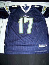 Reebok Men's San Diego Chargers #17 Philip Rivers Jersey