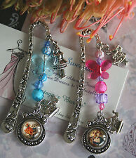 Alice in Wonderland Bookmark / Book Mark - Fairy Tale Beaded Bookmark