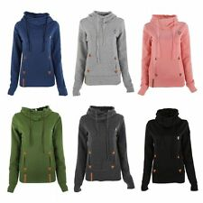 Women Warm Long Sleeve Hoodie Tops Lady Hooded Sweatshirt Coat Jacket Pullover