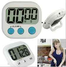 Large LCD Display Digital Kitchen Racing Alarm Count UP Down Cooking Timer Clock