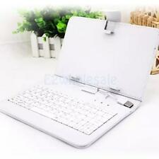 PU Leather Micro USB Keyboard Protective Case Stand Cover for 7inch Tablet & PC