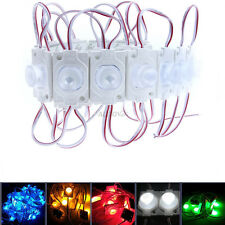 20-100pcs White Warm R G B Y Super bright High Power 1.5W 1 LED Module & Big Len
