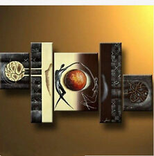 4 piece MODERN ABSTRACT LARGE ART OIL PAINTING WALL DECOR CANVAS,Lovers dance