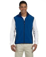 NEW Chestnut Hill Men's Vest Polartec Colorblock Full-Zip Jacket Solid CH960