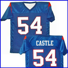 Thad Castle #54 Blue Mountain State Football Jersey Mens Blue TV New