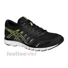 Shoes Asics Gel Zaraca 4 T5K3N 9099 Men running Black onyx Flash Yellow Casual