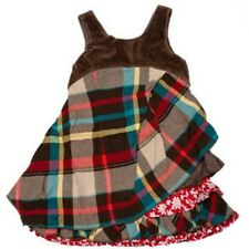 NWT Eliane Et Lena Paris Red Plaid Atsuko Jumper girls size 4 5 6 10 y.old 35R02