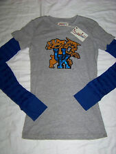 Pressbox Women's Kentucky Wildcats Long Sleeve Shirt NWT