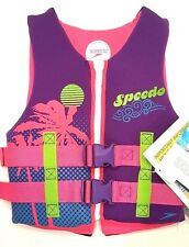 Speedo Youth US Coast Guard Approved Neoprene Life Jacket Preserver Vest - NWT