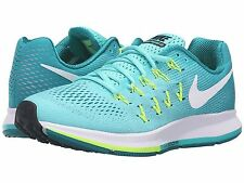 NIKE AIR ZOOM PEGASUS 33 TURQUOISE WOMENS RUNNING SHOES **FREE POST AUSTRALIA