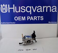 New OEM Husqvarna  506450401 Chainsaw Carburetor AKA  Zama C1M-EL37B for 445 450