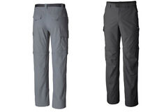 "NEW Columbia men's silver ridge convertible pants, Inseam 34"", ALL SIZES"