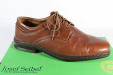 Seibel Men's Lace-up Shoes, Low Shoe Sneaker brown, Leather insole, 37220 NEW