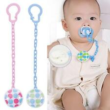 Infant Chain Clip Hot Holder Soother Girl Pacifier Dummy Toddler Toy Baby Boy