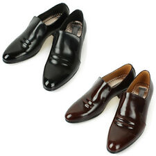 Mooda Mens Leather Loafer Shoes Casual Formal Lace up Dress Shoes Ace AU