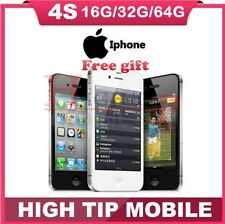 Apple iPhone 4S 8GB 16GB 32GB BLACK WHITE  Factory Unlocked Refurbished