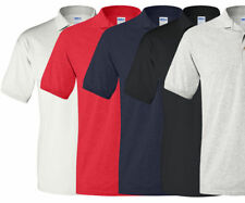 Gildan Men's DryBlend 50/50 Three Button Bulk Lot Pack Polo Shirt Apparel. G880