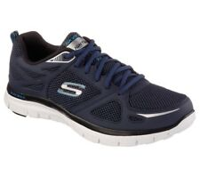 Skechers 51460 NVBL Mens Flex Advantage First Team Sneaker/Training/Runnung Shoe