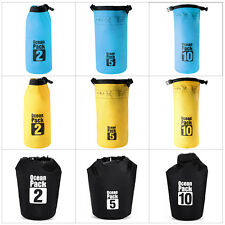 3 Colors Dry Bag Water Resistant Canoeing Floating Boating Kayaking Camping