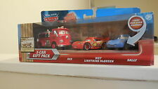 Disney Pixar Cars 3-Car Gift Pack - Red, Wet Lightning McQueen and Sally