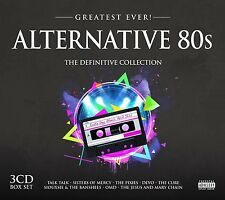 ALTERNATIVE 80S-GREATEST EVER 3CD NEW! SIMPLE MINDS/TEH SISTERS OF MERCY