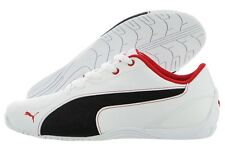 Puma Drift Cat 5 Leather NU Jr 36096704 White Black Red Casual Shoes Youth