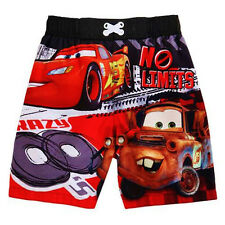 DISNEY CARS McQUEEN & MATER UPF-50+ Bathing Suit Swim Trunks NWT Sz 3T or 4T $22