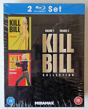 Kill Bill Collection Volume 1 & 2 -Blu-Ray Set New & Sealed