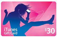 $30 Australian iTunes Gift Card - Fast delivery