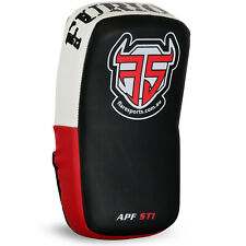 Flare Thai Arm Pad UFC Strike Shield Focus MMA Punch Bag Muay Curve Kick Boxing