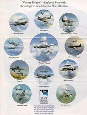 REACH FOR THE SKY - BATTLE OF BRITAIN PLATE COLLECTION