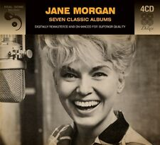 JANE MORGAN - 7 CLASSIC ALBUMS DELUXE DIGIPACK 4 CD NEW!
