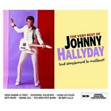 JOHNNY HALLYDAY - THE VERY BEST OF 2 CD  FRENCH POP / ROCK & ROLL HITS  NEW!