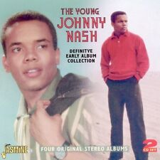 JOHNNY NASH - THE YOUNG JOHNNY NASH 2 CD NEW!