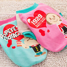 Small Cat Dog Coat Jacket Pet Clothes Shirt Apparel Sweater Puppy Costume Hoodie