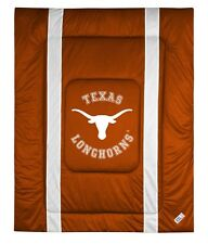 University of Texas Longhorns Sideline Bedding Comforter Cover