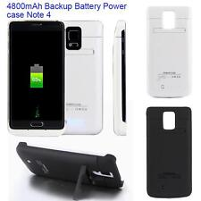 4800mAh External Backup Battery Power Bank Charger Case For Samsung Note 4