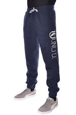 Marc Ecko Sweatpants Fleece Loungewear Mens Sweats Side Logo Pants Navy