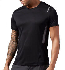 Reebok Mens Workout Ready Tech Tee Athletic Slim Fit Compression T-Shirt Fitness