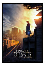 Framed Fantastic Beasts One Sheet Film Movie Poster New