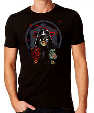 Star Wars Dark Side Zombie T-shirt - StarWars Themed Comedy Halloween Costume