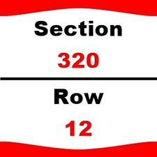 2 TIX Red Hot Chili Peppers 3/10 Staples Center Sect-320