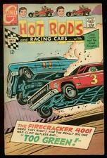 HOT RODS AND RACING CARS #92 1968 NASCAR CRASH COVER VG