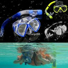 3 Color Diving Equipment Dive Mask Dry Snorkel Set Scuba Snorkeling Gear UTAR