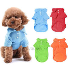 Unisex Pet Puppy Summer Shirt Small Dog Cat Pet Clothes Costume Apparel T-Shirts