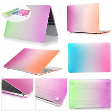 """Shiny Rainbow Rubberized Hard Case Keyboard Cover for Macbook Pro Air 11/13"""" 15"""""""