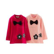 Baby Girls Long Sleeve Warm Hoodie Sweater Kid Toddler Party Shirt Dresses Tops