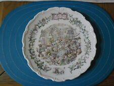 Royal Doulton The Wind in the Willows Collectors Plate - Badgers Party