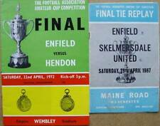 Enfield Amateur Cup Final 1967 Replay & 1972 Final